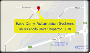 Map Of Easy Dairy Automation
